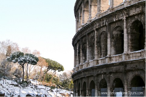 Winter in the Eternal City