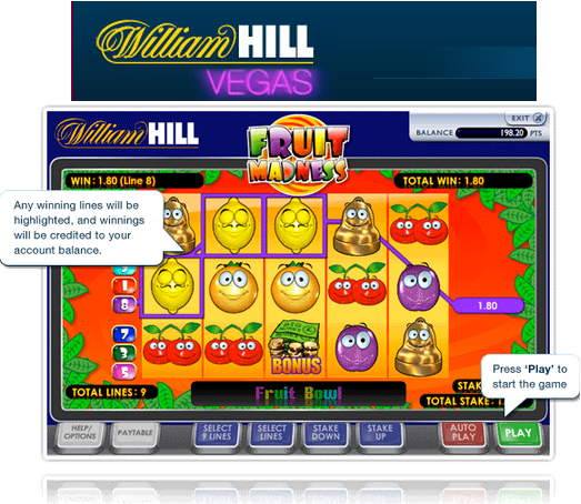 Fruit Madness by William Hill